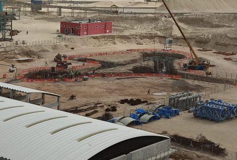 TRAVAUX DE CONSTRUCTION GENIE CIVIL DE 2 DECANTEURS